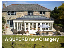 Imphouse were commissioned to create a SUPERB new Orangery that would fit in with the character and period of the existing property